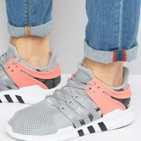 adidas Originals EQT Support Advance Trainers In Grey BB2792 at asos.com