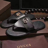 GUCCI: men and women fashion casual slippers