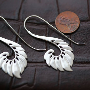 Silver Gypsy Brass Earrings