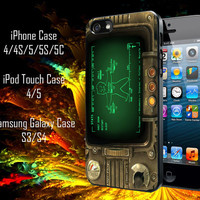 Pipboy 3000 Fallout Samsung Galaxy S3/ S4 case, iPhone 4/4S / 5/ 5s/ 5c case, iPod Touch 4 / 5 case
