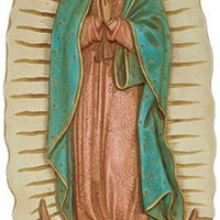 Our Lady of Guadalupe Wall Relief, Color Details - R-010SP