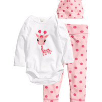 Jersey Set with Printed Design - from H&M