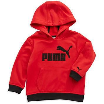 Puma Boys 2-7 Logo Hooded Sweatshirt