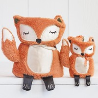 Fox  Critter  Blanket  Set  From  Natural  Life