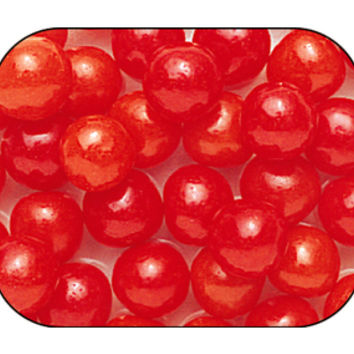 Cherry Sours Candy Balls: 10LB Case