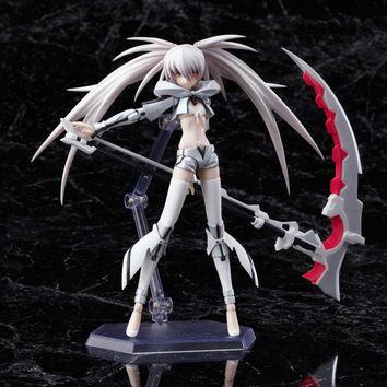 Black Rock Shooter White Movable Action Figure NEW