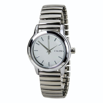 DKNY NY2106 Women's Park Avenue Silver Dial Steel Expansion Bracelet Watch