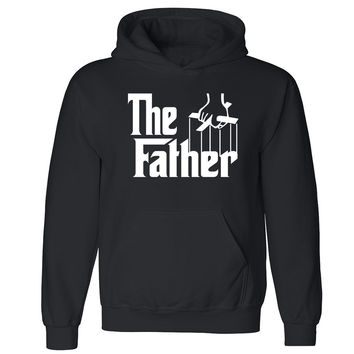"Zexpa Apparelâ""¢ The Father Unisex Hoodie Couple Matching Valentines Day Gift Hooded Sweatshirt"