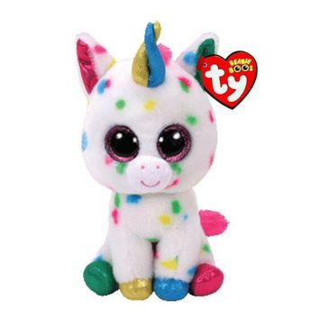 """Ty Beanie Boos Stuffed & Plush Animals Color spots Unicorn Toy Doll With Tag 6"""" 15cm"""