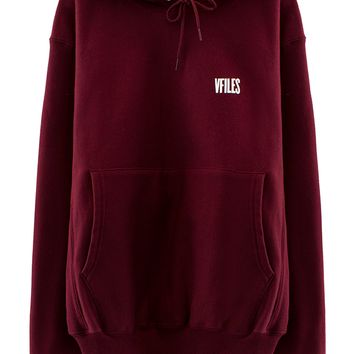 VFILES PULLOVER HOODIE | @vfiles | VFILES SHOP