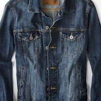 AEO Men's Denim Jacket (Blue)