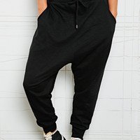 Sparkle & Fade Drop Crotch Slub Sweat Pants - Urban Outfitters