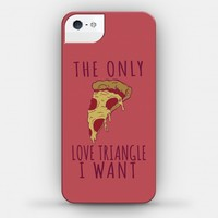 The Only Love Triangle I want Is Pizza
