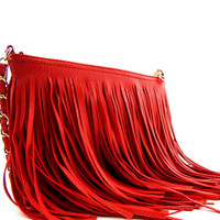 FRINGE and THINGS Purse
