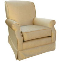 Angel Song 201021176Foam Aspen Taupe Adult Club Rocker Glider
