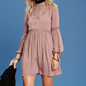 Contemporary Lace Swing Dress