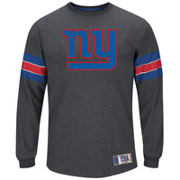 New York Giants Team Spotlight III Long Sleeve NFL T-Shirt With Felt Applique