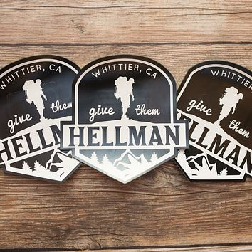 WHITTIER HELLMAN TRAIL MAGNET