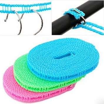 Travel Business Outdoor Necessary Tools,Clothesline Non-slip Clothes Line Rope Free Shipping