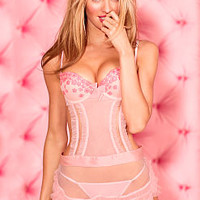 Embroidered Daisy Apron Babydoll - Very Sexy - Victoria's Secret