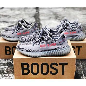 ADIDAS YEEZY BOOST 350 Tide Brand Retro New Fashion Women Men Wild Sports Shoes