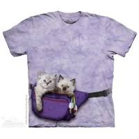 Fanny Pack Kittens T-Shirt - The Mountain