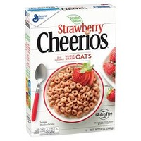 Strawberry Cheerrios Whole Grain Oats - 12 oz : Target