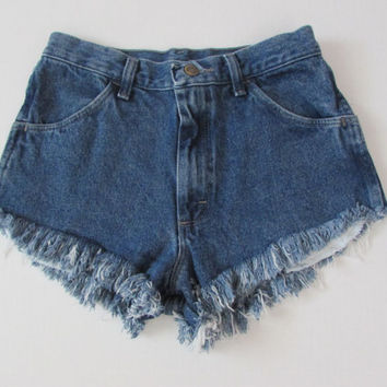 Beach Bum, High Waist Fringe Short