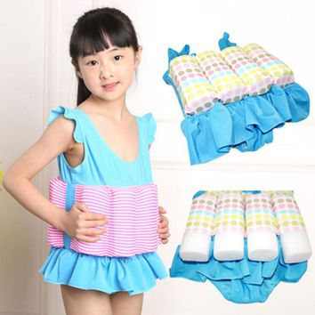 Professional Buoyant Vest Swimming Suits Children swimwear swimsuit for kids Boys & Girls Buoyancy Swimsuit Swimming Aid
