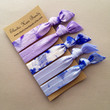 The Lavender Hair Tie OR Headband Collection by Elastic Hair Bandz