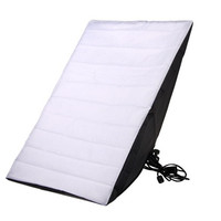 50 x 70 Single Light Soft-box with US Standard Plug for Photo Studio (Black)