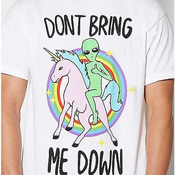 Dont Bring Me Down T Shirt - Spencer's
