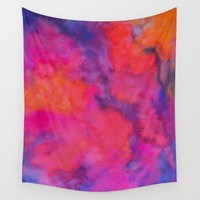 Improvisation 30 Wall Tapestry by ViviGonzalezArt
