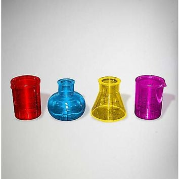Chemistry Shot Glasses - 4 Pack - Spencer's