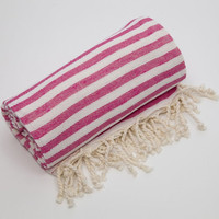 Linum Home Textiles Fun in the Sun 100% Turkish Cotton Pestemal/Fouta Towel from Hayneedle | BHG.com Shop
