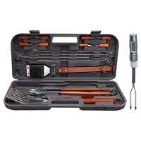 Chefmate 17 pc SS Tool Set w/ Therm Fork