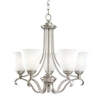Sea Gull Lighting 31380-965 5 Light Parkview Chandelier