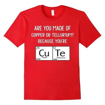 Funny Science Shirt Valentines Day Cute Periodic Table Tee