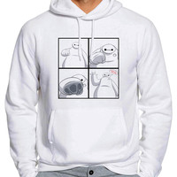 Big Hero Six Baymax Ba La La La 2 Man Hoodie and Woman Hoodie