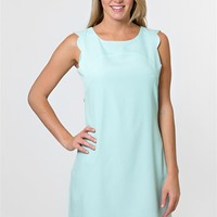 Scallop Sass Dress - Mint at Bluetique Cheap Chic
