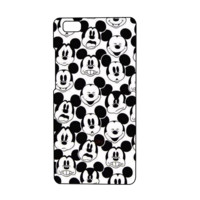 Cute Mickey Mouse Collage Cartoon Mobile Phone Protective Case For Huawei Ascend P8 Lite [5.0 inch]