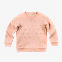 Stella McCartney Dove Sweatshirt with Heart Studs - 348913 - FINAL SALE