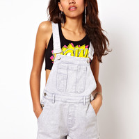 Motel | Motel Demi Denim Dungarees at ASOS