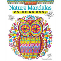 Nature Mandalas Adult Coloring Book