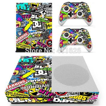 OSTSTICKER hot selling sticker bomb vinyl decal cover for Xbox one S Console for Xbox One controllers skin stickers