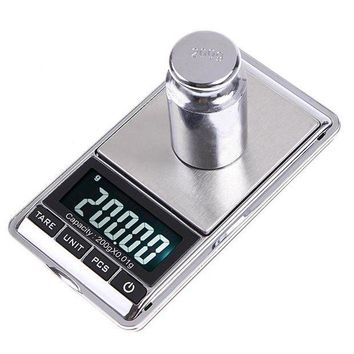 CREYLD1 200gx0.01g Mini Digital Scale Portable Weighting Scale Weight Scales LCD Electronic  Pocket Case Kitchen Jewelry Diamond Balanca