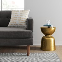 Ophdahl Hourglass Accent Table Brass - Project 62™