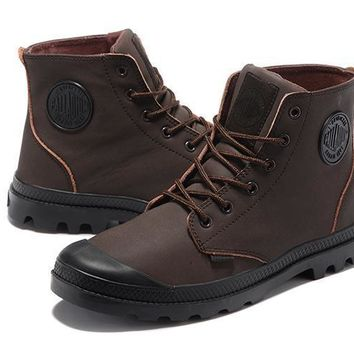Palladium Pampa Hi Vl Men Boots Brown - Beauty Ticks