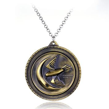 Game of Thrones necklace badge of House Arryn of the Eyrie pendant necklace Family Crest pendant jewelry souvenirs Gift
