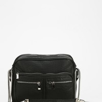 Deena & Ozzy Selby Moto Zip Shoulder Bag - Urban Outfitters